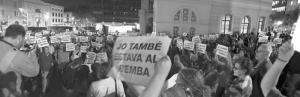 Manifestaci� de suport als detinguts